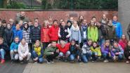 Vijfdeklassers van basisschool Grotenberge leven zich uit op zeeklas