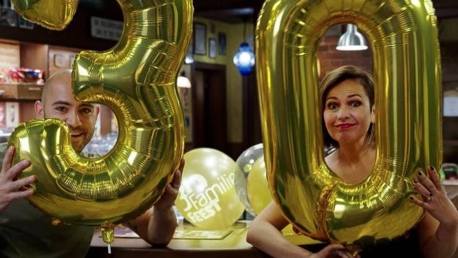 'Familie' blaast 30 kaarsjes uit en viert dat volgend jaar in de Lotto Arena