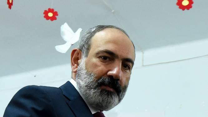 Armeense premier Pasjinjan winnaar van parlementsverkiezingen