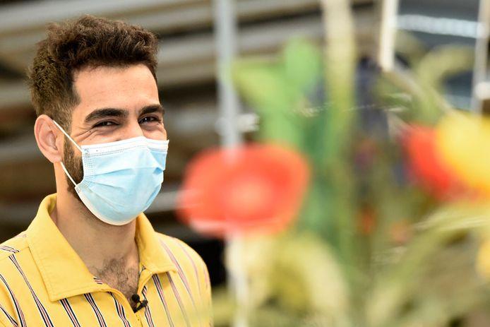 Aladin (30) is een Palestijnse vluchteling uit Gaza en deel van het opleidingstraject 'Werken & Samen Groeien'.