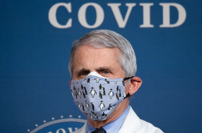 Le Dr Anthony Fauci, conseiller anti-Covid de la Maison Blanche.