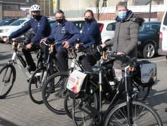 Agenten van politiezone Dilbeek komen dit jaar vaker met de fiets naar het werk