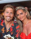 Andre Hazes en zijn partner Sarah van Soelen.