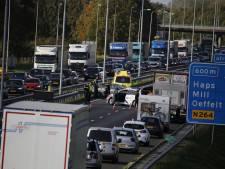 File door ongeval op A73 bij Haps is weer opgelost