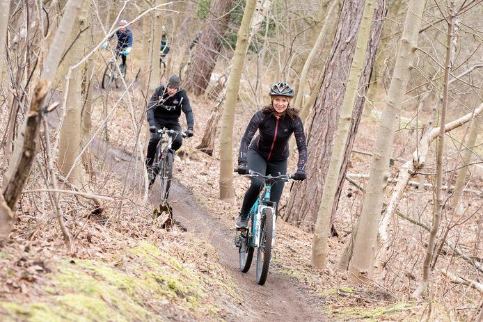 Julie Hall gaat voor het eerst dit mooie fietsparcours ontdekken.