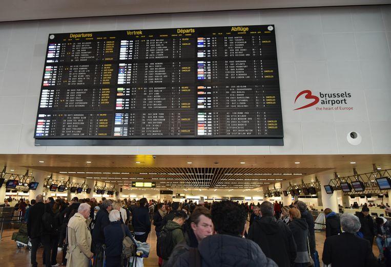 Illustratie: luchthaven