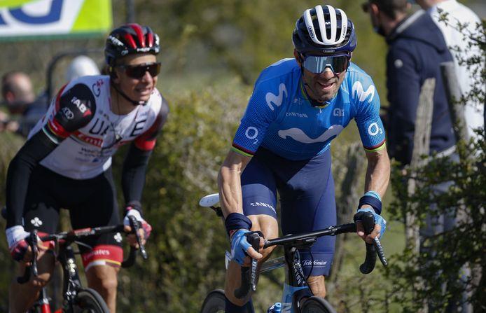 Alejandro Valverde is inmiddels 41 jaar.
