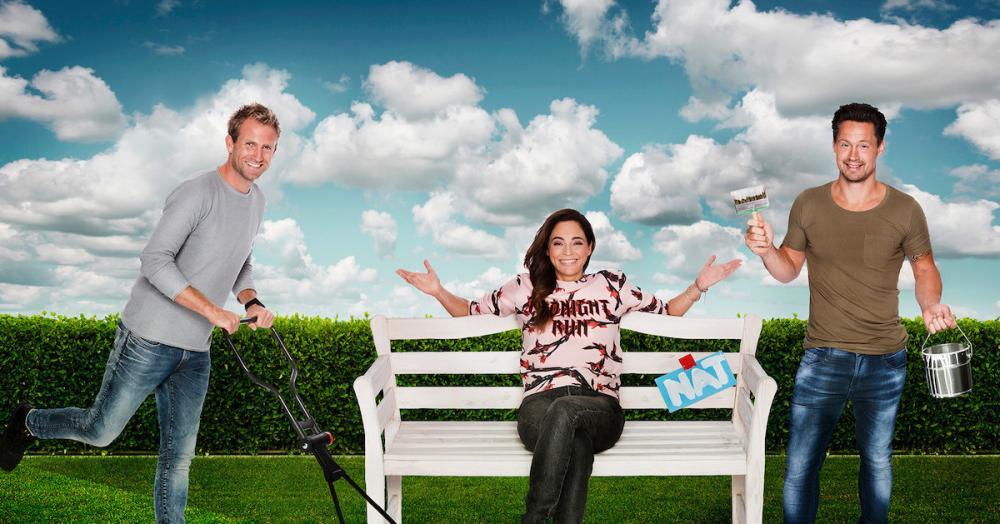 Tuinman Tom, presentatrice Evelyn en timmerman Thomas zijn de vaste gezichten van het programma. Zij zoeken hulp van een onbekende stylist.