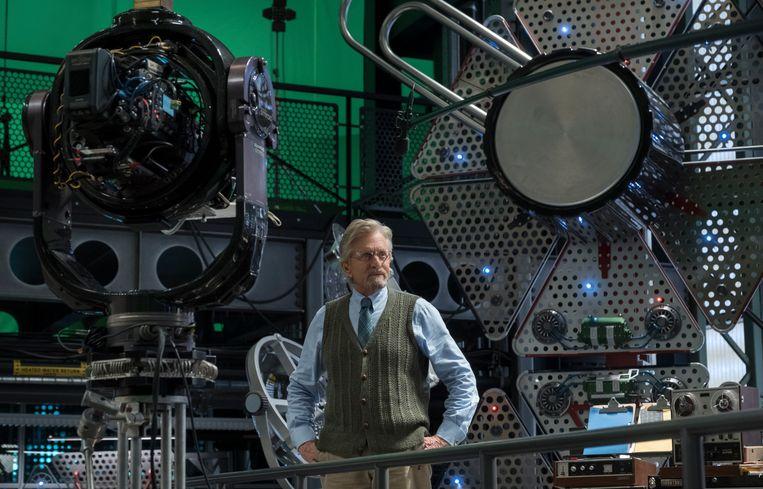 Voor Ant-Man had Michael Douglas nooit voor een scherm geacteerd.