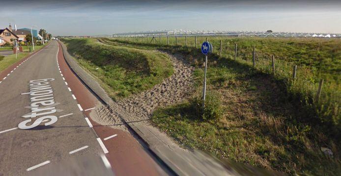 De gemeente gaat de subsidie gebruiken voor de verbetering van bestaande ruiterpaden, zoals deze langs de Strandweg in 's-Gravenzande, en de aanleg van een nieuw ruiterpad in de duinen.