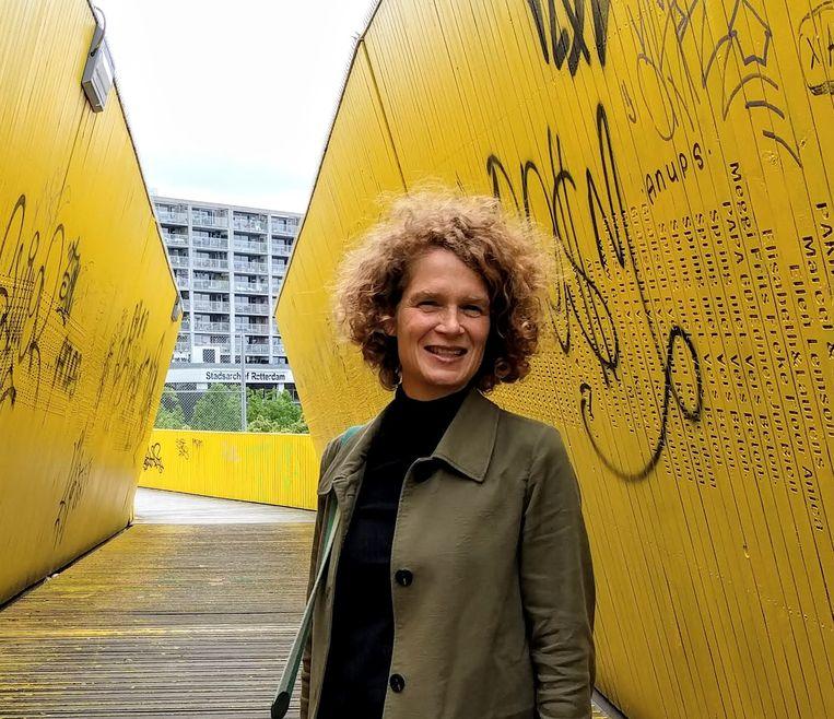 De Rotterdamse kinderombudsman Stans Goudsmit Beeld
