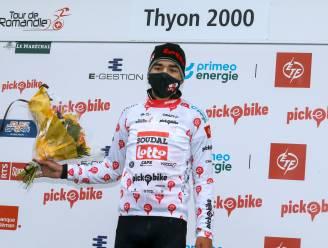 """Kobe Goossens maakt indruk met bergtrui in Romandië: """"De Giro is dit jaar mijn hoofddoel, ik wil er een ritzege najagen"""""""