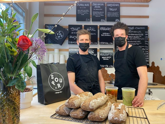 Timothy en Giovanni, de overnemers van Soup'r.