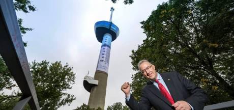 Euromast ingepakt als insulinespuit voor goed doel