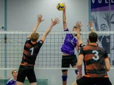 Volleyballers Vocasa tonen veerkracht: 'Altijd lekker om je eerste thuisduel te winnen'