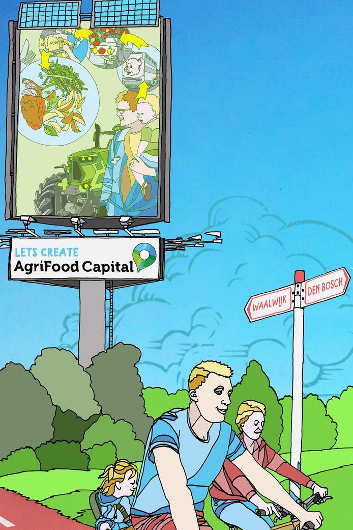AgriFood Capital gaat nauw samenwerken met andere voedselregio's in Nederland: Greenport Regio Venlo en Regio Foodvalley in Gelderland.