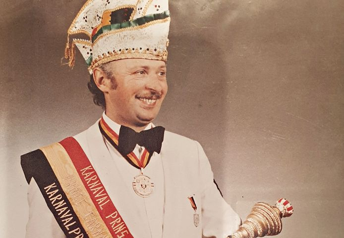 Don August als Prins Carnaval van België