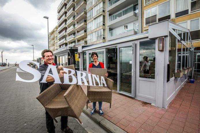 Knokke 't hespekotje gesloten, nieuwe zaak Sabrina aan het Rubensplein