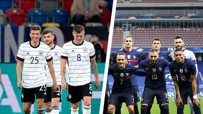 Kanté of Kimmich? Mbappé of Müller? Stel hier jouw ideale basiself op voor Frankrijk-Duitsland