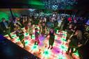 Op de Grote Markt komt een verlichte discodansvloer