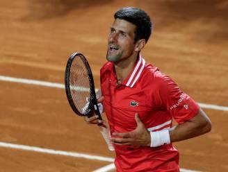 Topduel in Rome: net als Nadal bereikt ook Djokovic finale