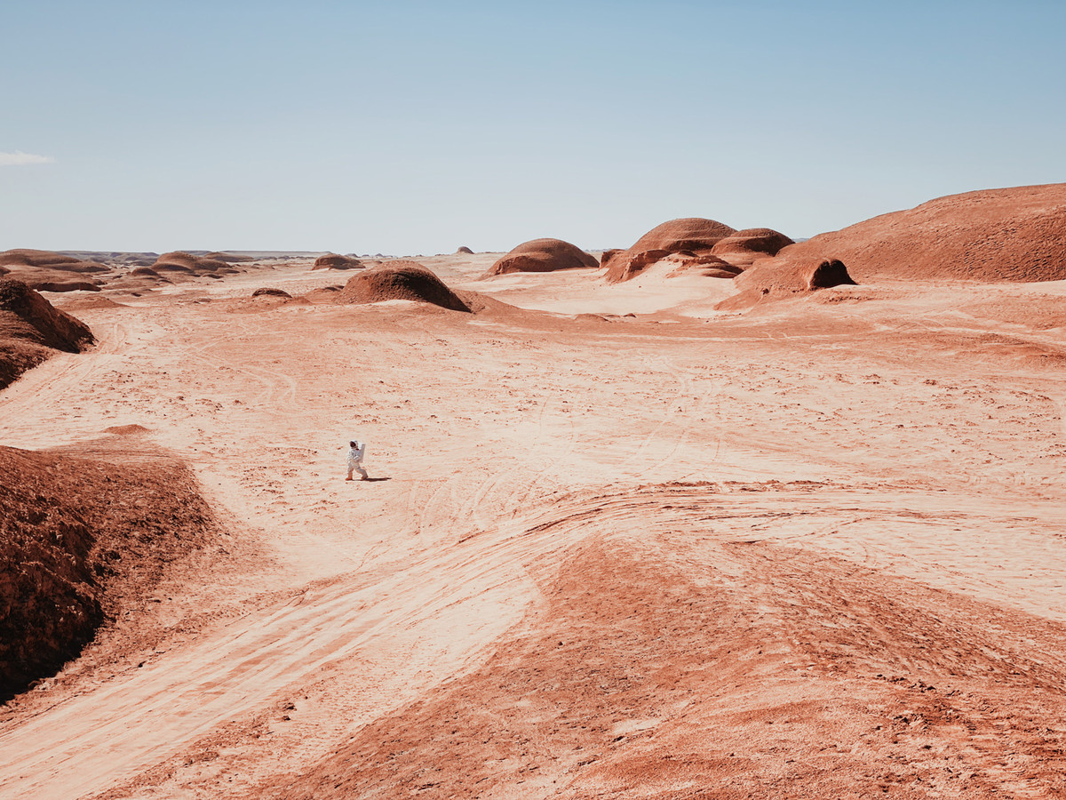 A Walk on Mars - iPhone 11 Pro Max - 2e place