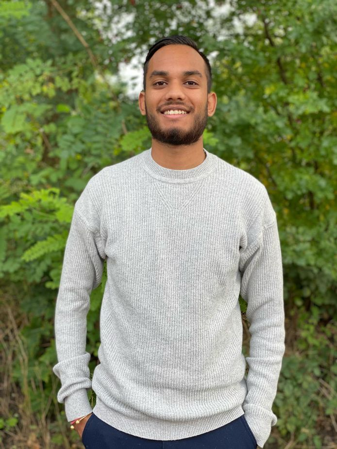 """Satyam Thani (20) uit Amersfoort: ,,Mijn ultieme doel is om straks onbekende talenten een podium te bieden."""""""