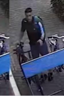 Politie Wierden deelt beelden van fietsendief op Facebook