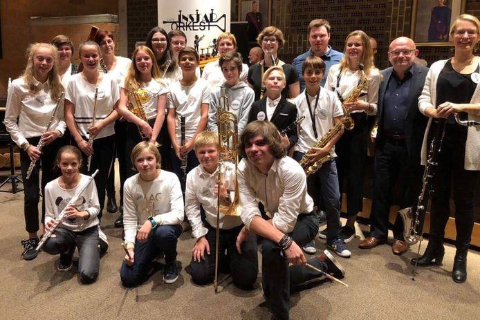 Het instaporkest van de Koninklijke Harmonie Sint-Cecilia Erpe won in 2018 de cultuurprijs van de gemeente.