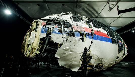 Gereconstrueerde delen van rampvlucht MH17