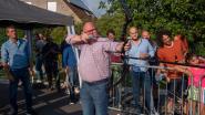 Burgemeester Pardaen schiet Oogstfeesten op gang tijdens Patattenschieting