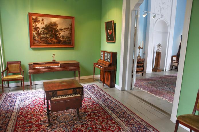 Het Geelvinck Muziek Museum, dat sinds de zomer van 2017 is gevestigd in Huis De Wildeman.