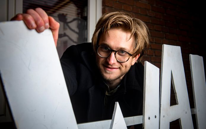 Vincent Draaijer roept jongeren op hem te helpen met het tweedaagse jongerenfestival dat eraan komt in het tweede weekend van juli.