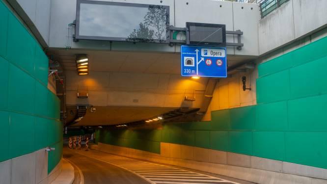 Autotunnels van Antwerpse Leien afgesloten na ongeval