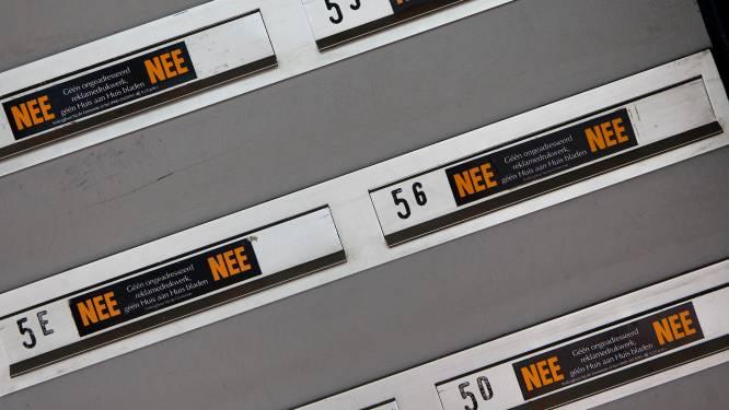 Nieuwe brievenbusstickers in Zoetermeer moeten papier besparen