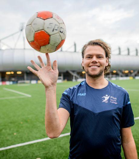 Pius start Soccer College: maar alleen als je óók in de klas scoort mag je meedoen