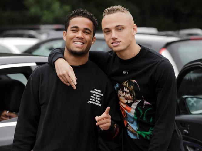 """Justin Kluivert (zoon van) en Noa Lang, 'broers' voor het leven: """"Wij kijken nooit achterom"""""""