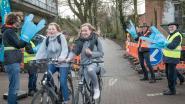 Applausje voor fietsers