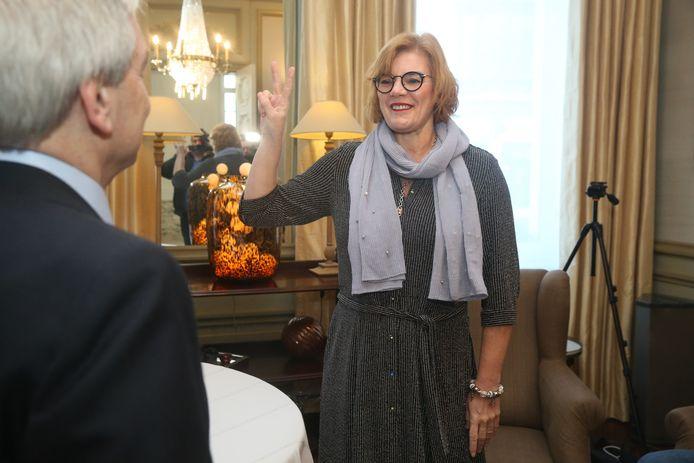 Eedaflegging burgemeester Ninove, Tania De Jonge.