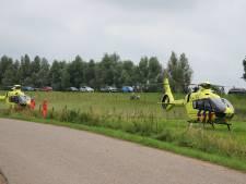 Meisje zwaargewond bij ernstig ongeval bij fruitbedrijf in Beusichem: twee traumaheli's geland