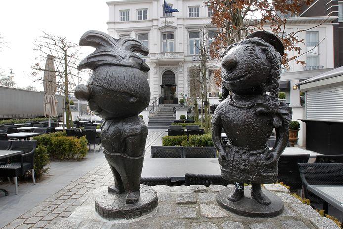 Het zal stil blijven bij Butske en Batske, de Helmondse carnavalssymbolen.