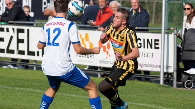 Voetbaloverzicht: herstelde Wilpstra scoort voor MVV'58, 'pinchhitter' Bronk loodst Lienden naar koppositie