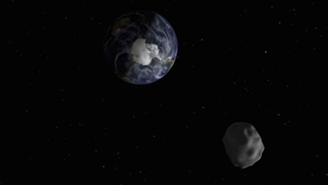 Botst asteroïde in 2017 tegen onze planeet?