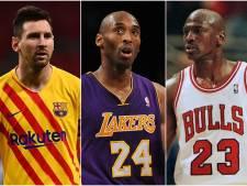 Kobe Bryant met stip op één: dit zijn de meest bezongen sporters ter wereld