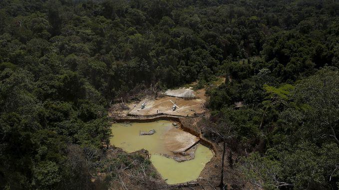 Brazilië trekt mijnvergunning voor Amazonewoud in