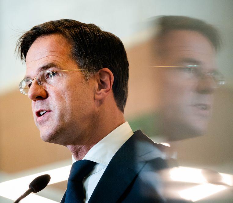 Premier Mark Rutte. Beeld Hollandse Hoogte /  ANP