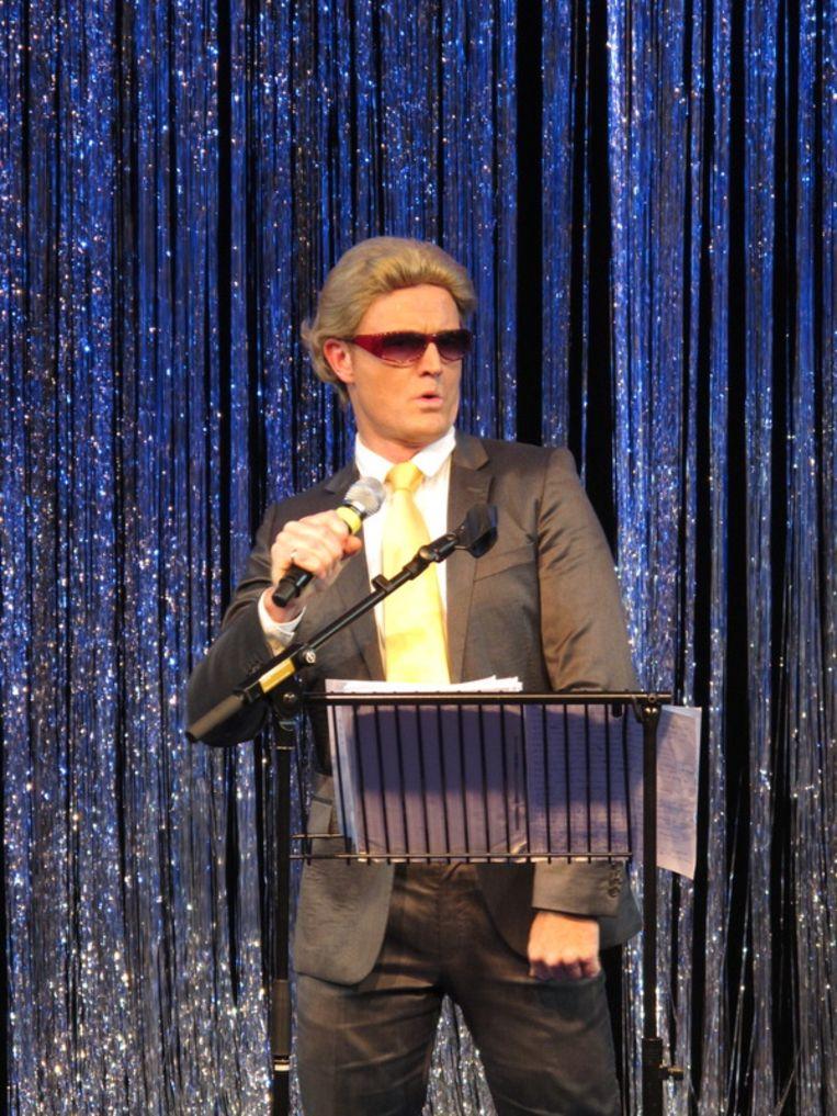 Wilders de rockende megaster - Mike Reus. Beeld