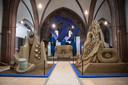 Zandsculpturen expo in de Sint-Antoniuskerk in Oosterhout.