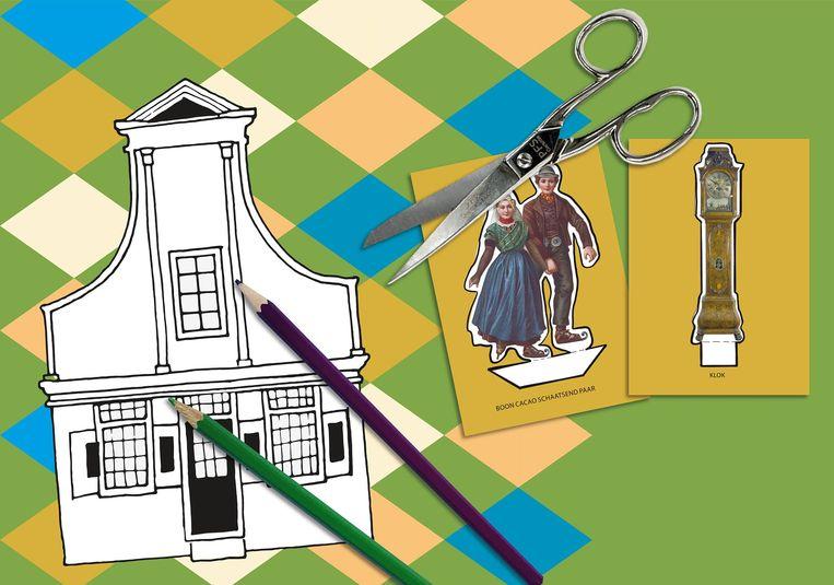 Het Zaans Museum organiseert een thuisworkshop. Beeld geen credits
