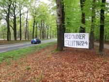 Dode wolf is de druppel: actiegroep wil N224 tussen Ede en Arnhem sluiten
